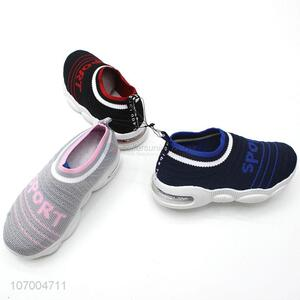 New Model Breathable Children Mesh Flying Knit Running Shoes