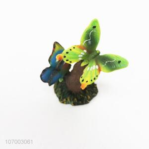 Fashion Simulation Butterfly Resin Decoration Ornament