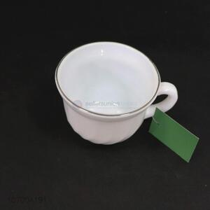 Good sale opal glass tea cup opal drinkware for restaurant