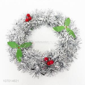 Hot selling Christmas decoration glitter Christmas wreath