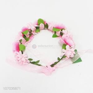 Wholesale fine floral hairband headband party wedding garland