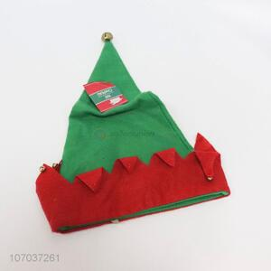 New arrival two-tone fleece Christmas hat for adults