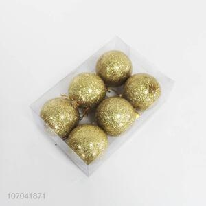 Cheap Christmas Tree Decorations Hanging Gold Christmas Balls