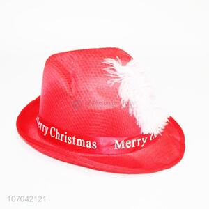 Wholesale fashionable non-woven cowboy hat Christmas hat