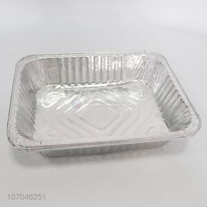 New product 3pc disposable aluminum foil food tray container for food packaging