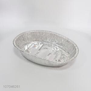 High Quality Aluminum Foil Dinner Plate Fashion Foil Containers
