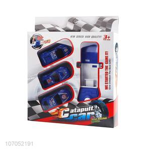 Premium Quality Interesting Catapult With 3 Pcs Racing Car Plastic Toys Set