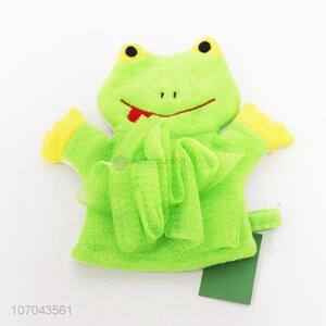 Cartoon Design Colorful Bath Gloves For Adult