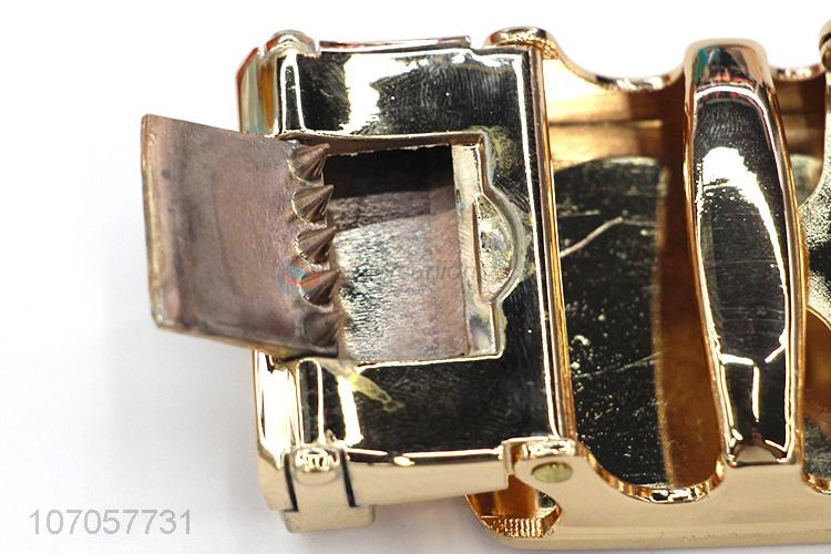 Suitable price high-end men metal belt buckle belt accessories