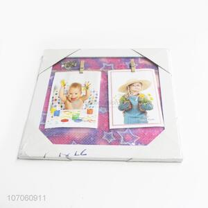 New Arrival Household Decoration Photo Frame With Photo Clips