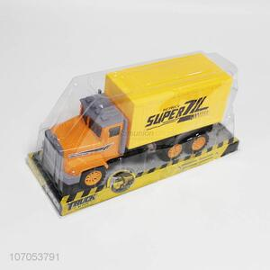Wholesale Plastic Simulation Truck Inertial Toy Car