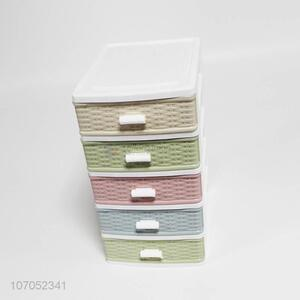 Best selling high-grade multi-use 5 tier plastic storage drawer