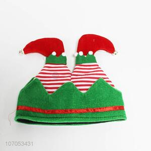 High quality novelty elf Santa hat Christmas hat for kids