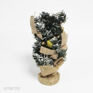 Hot sale exquisite mini Christmas tree for restaurant table decoration
