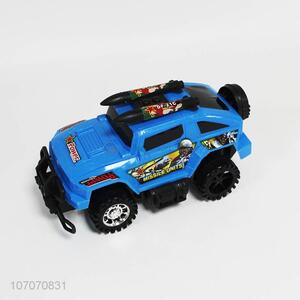 New product plastic missile launcher car toy for children