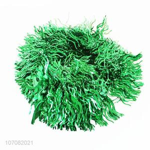 Promotional cheap hanging Christmas tinsel garland Christmas tree decoration