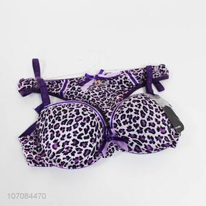 Contracted Design Women Sexy Underwear Bra & Panties Sets