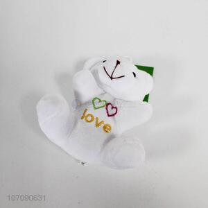 Wholesale Cute Embroidery Bears With Key Chain