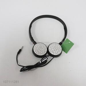 High quality creative crackle wired headphone for PC and mobile phone