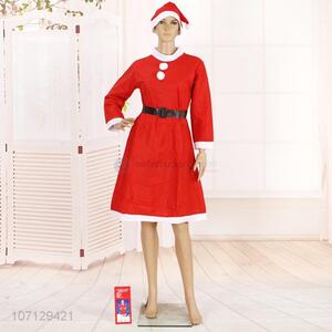 Custom Christmas Dress Santa Claus Costume Suit For Adult