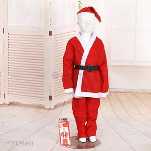 Custom Christmas Cos Play Props Santa Claus Clothes Suit
