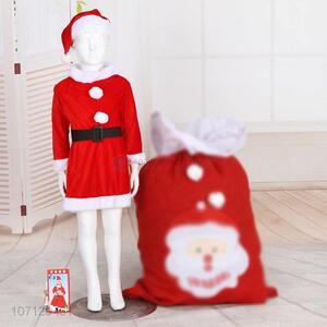 Custom Christmas Cosplay Santa Claus Costume For Girls