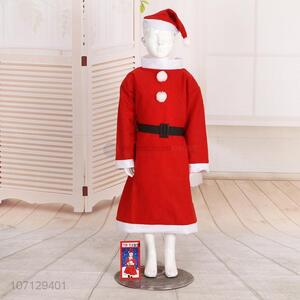 Popular Christmas Dress Up Santa Claus Costume For Kids