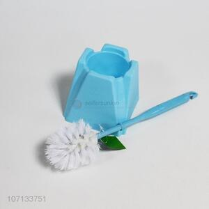 Suitable price bathroom accessories plastic toilet brush and holder cleaning tools