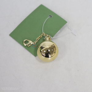 Custom Zinc Alloy Ball Pendant Fashion Key Accessories
