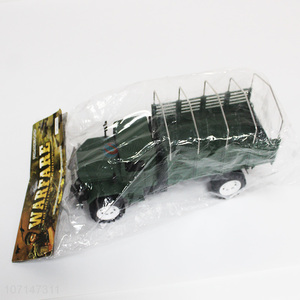 High quality plastic toy vehicles military scale model truck for gift
