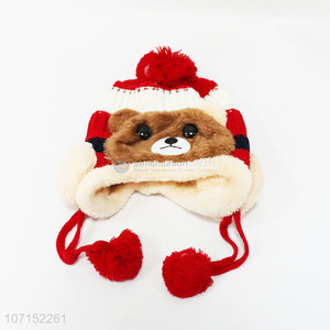 Hot Sale Cartoon Animal Knitted Hat For Children