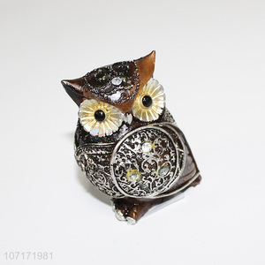 Good market home decor resin owl figurines resin statuettes resin crafts