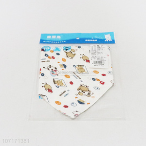 Factory price 100% cotton baby bandana drool baby bibs