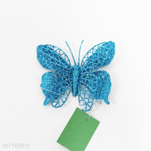 Factory price colorful butterfly Christmas decorations pendants