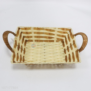 Fashion Household Plastic Basket Food Storage Basket