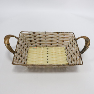 Good Quality Plastic Basket Food Storage Basket