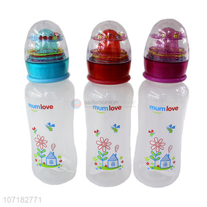 China Manufacturer 300Ml Baby Feeding Bottle Food Grade Small Baby Bottle