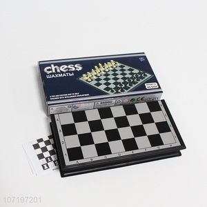 Wholesale Black Chessboard Chess Set