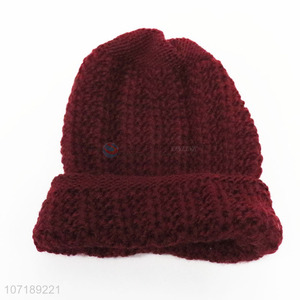 Good Quality Casual Knitted Hat Warm Hat