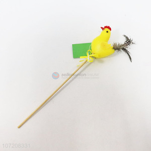 Factory sell easter foam chicken stick for decoration
