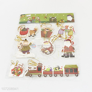Creative Best Wishes Small Cute Christmas Card Message Holiday Card