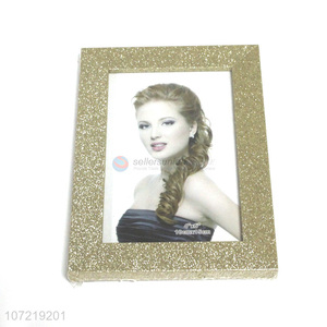 New Design Stand On Table Decoration Customized Plastic Photo Frame