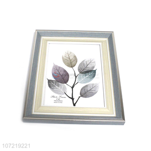 Wholesale Price Platic Photo Picture Frame For Table Decoration