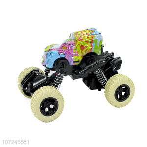 Excellent quality temperature variation pull-back rock crawler kids swing car