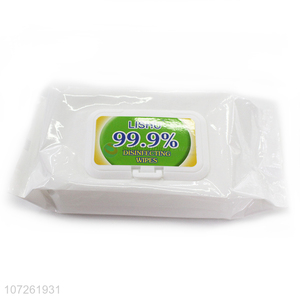 New style 60 sheets disposable antivirus wet wipes disinfectant wipes