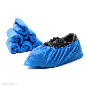 Good Quality Blue Disposable Plastic Shoe Cover