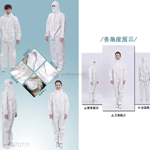 Good quality sterilized disposable medical protective clothing antibacteria solation coverall with FDA CE certification