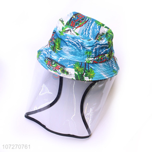Factory Price Anti-Saliva Face Protective Cap Fisherman Isolates Hat