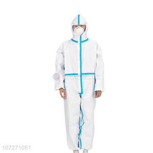 Excellent quality civil isolation coverall disposable normal protective clothing with CE FDA certification