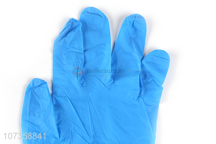 Hot selling anti bacterial disposable medical butyronitrile examination gloves